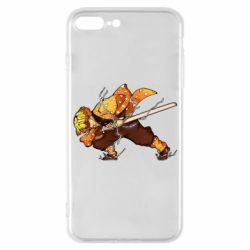 Чохол для iPhone 7 Plus Zenitsu Demon Slayer