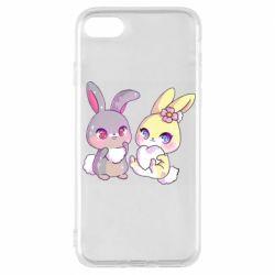 Чохол для iPhone 7 Rabbits In Love
