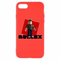 Чехол для iPhone 7 Roblox Builderman