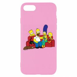 Чехол для iPhone 7 Simpsons At Home