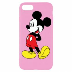 Чехол для iPhone 7 Smiling Mickey