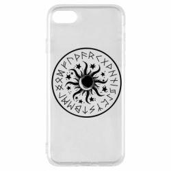Чохол для iPhone 7 Sun in runes