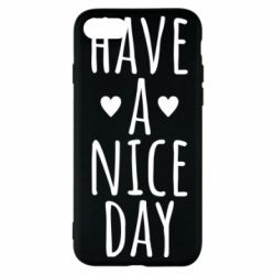"Чохол для iPhone 7 Text: ""Have a nice day"""
