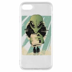 Чохол для iPhone 7 Alien with a can