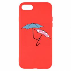 Чехол для iPhone 7 Umbrella love Color