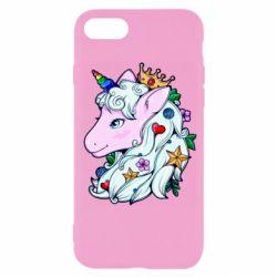 Чохол для iPhone 7 Unicorn Princess