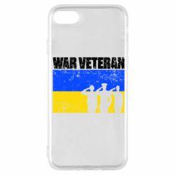 Чохол для iPhone 7 War veteran