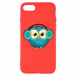 Чехол для iPhone 7 Winter owl