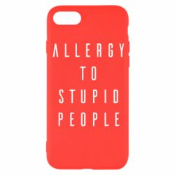 Чохол для iPhone 8 Allergy To Stupid People