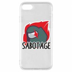 Чохол для iPhone 8 Among Us Sabotage