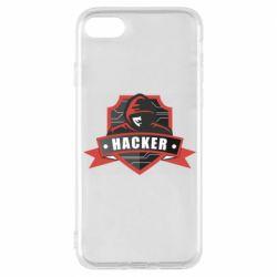 Чохол для iPhone 8 Anonymous Hacker