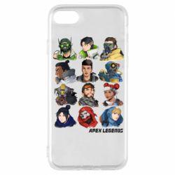 Чохол для iPhone 8 Apex legends heroes