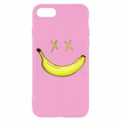 Чехол для iPhone 8 Banana smile