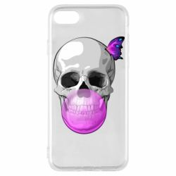 Чохол для iPhone 8 Butterfly on the skull