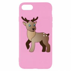 Чехол для iPhone 8 Cartoon deer