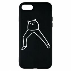 Чохол для iPhone 8 Cat in pants