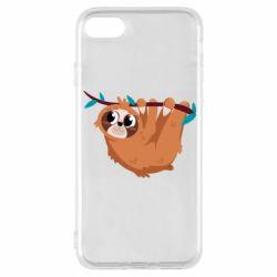 Чохол для iPhone 8 Cute sloth