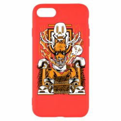Чехол для iPhone 8 Deer On The Throne