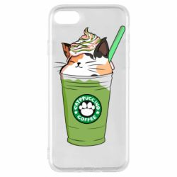 Чехол для iPhone 8 Delicious cat