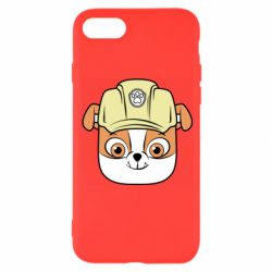 Чохол для iPhone 8 Dog in helmet