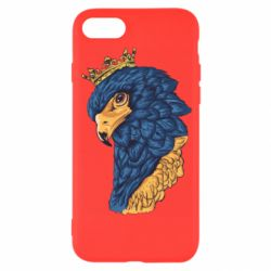 Чехол для iPhone 8 Eagle with a crown on its head