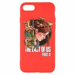 Чехол для iPhone 8 Ellie The Last Of Us