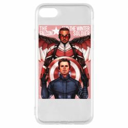 Чохол для iPhone 8 Falcon and the Winter Soldier Art