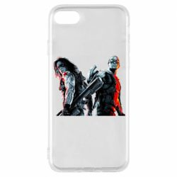 Чохол для iPhone 8 Falcon and Winter Soldier