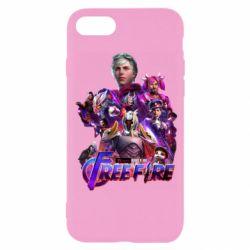 Чехол для iPhone 8 Garena free avengers