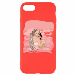 Чехол для iPhone 8 Girl mermaid