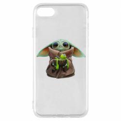 Чохол для iPhone 8 Grogu and Kermit