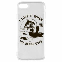 Чохол для iPhone 8 I love it when she bends over