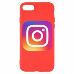 Чохол для iPhone 8 Instagram Logo Gradient
