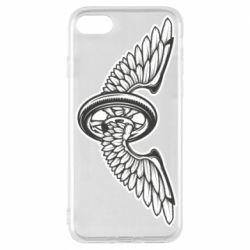 Чохол для iPhone 8 Колесо та крила