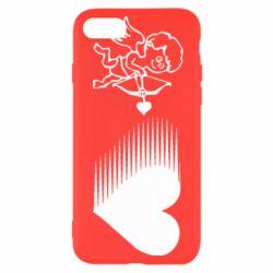 Чехол для iPhone 8 Купидон