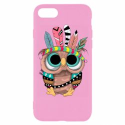 Чохол для iPhone 8 Little owl with feathers