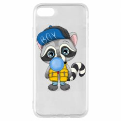 Чехол для iPhone 8 Little raccoon