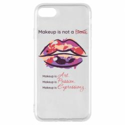 Чехол для iPhone 8 Make Up Is Not A Mask Lips