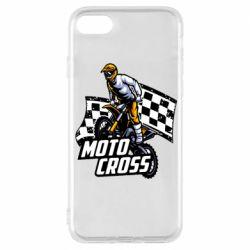 Чехол для iPhone 8 Motocross