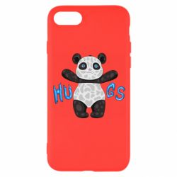 Чехол для iPhone 8 Panda hugs
