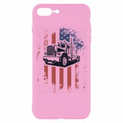 Чехол для iPhone 8 Plus American Truck