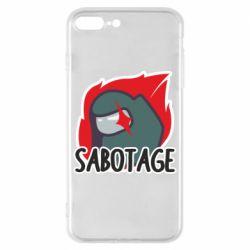 Чохол для iPhone 8 Plus Among Us Sabotage