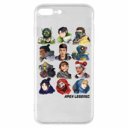 Чохол для iPhone 8 Plus Apex legends heroes