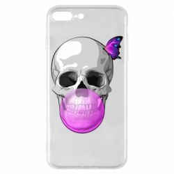 Чохол для iPhone 8 Plus Butterfly on the skull