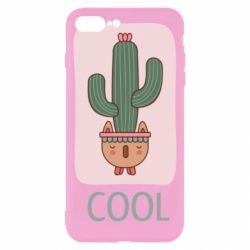 Чехол для iPhone 8 Plus Cactus art