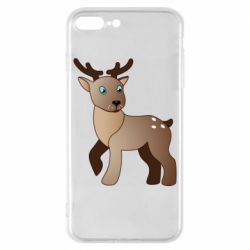 Чехол для iPhone 8 Plus Cartoon deer