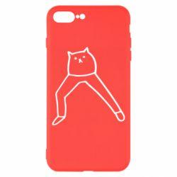 Чохол для iPhone 8 Plus Cat in pants