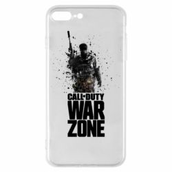 Чехол для iPhone 8 Plus COD Warzone Splash