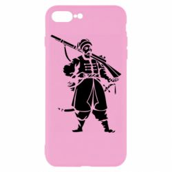 Чехол для iPhone 8 Plus Cossack with a gun