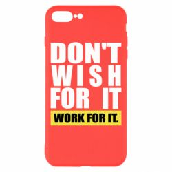 Чохол для iPhone 8 Plus Dont wish